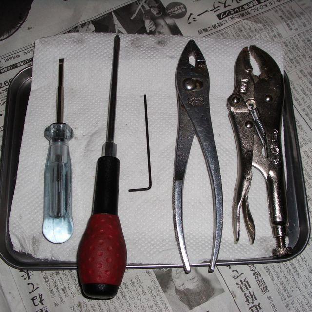 【使った工具】