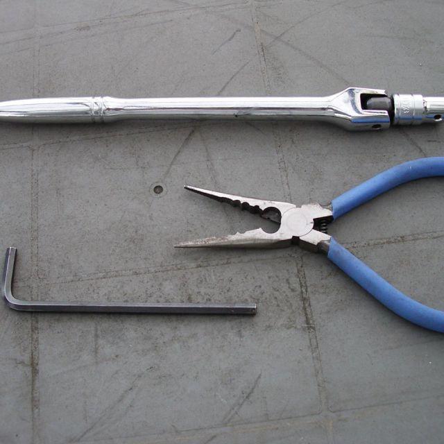【必要な工具類】