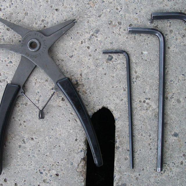 【使用した工具類】